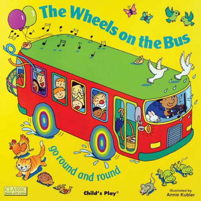 DVD The Wheels on the bus vui nhon