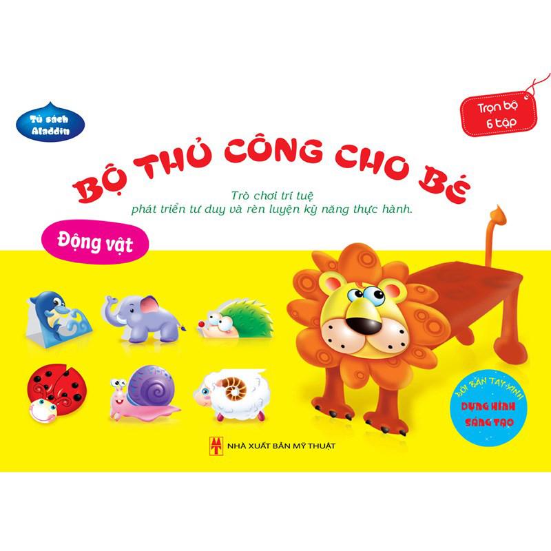 Bo thu cong cho be - Dong vat