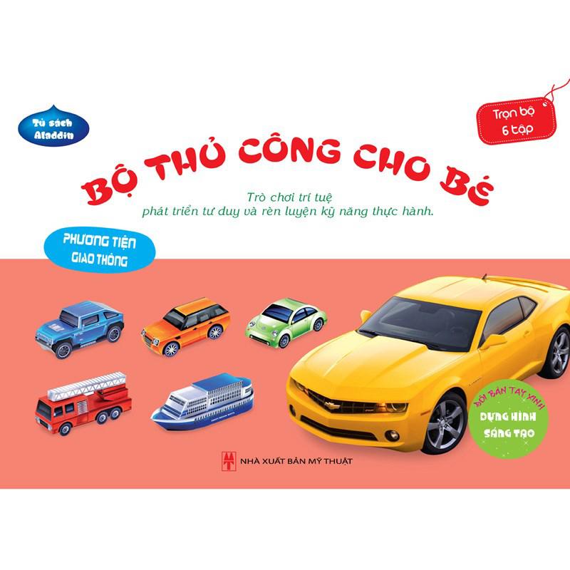 Bo thu cong cho be -Phuong tien giao thong