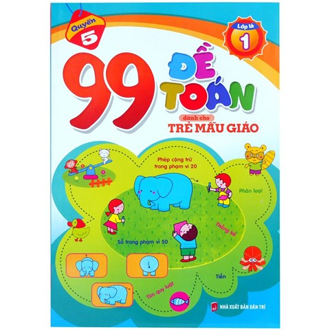 99 de toan danh cho tre mau giao (lop la 1)
