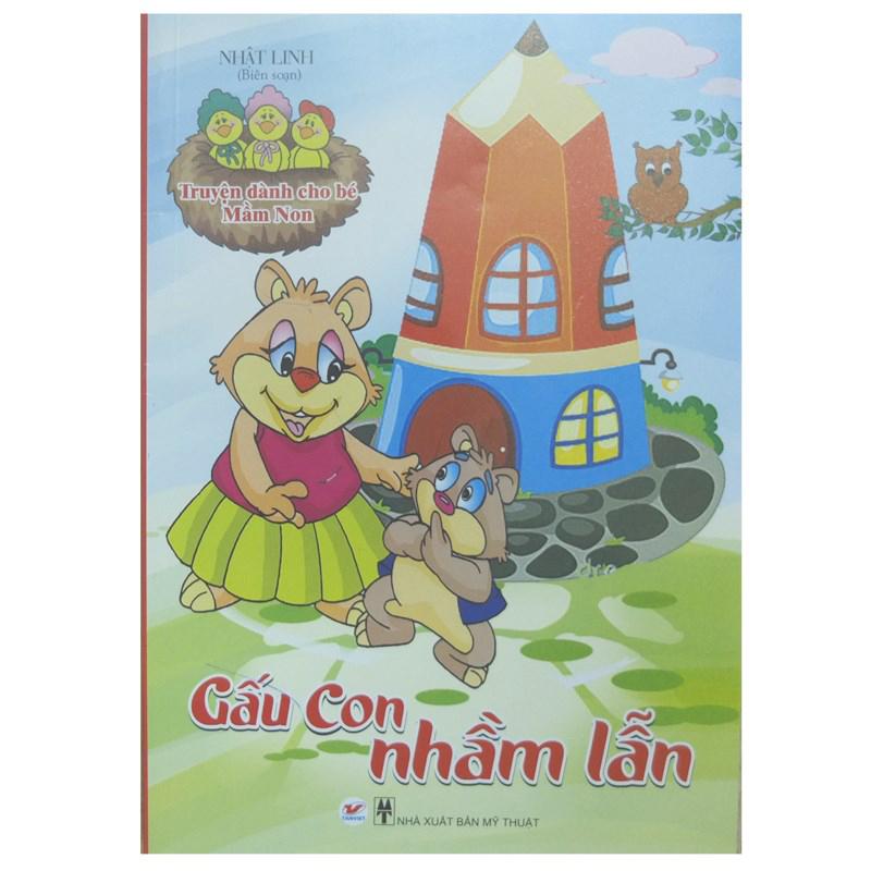 Truyen danh cho be Mam Non - Gau Con nham lan