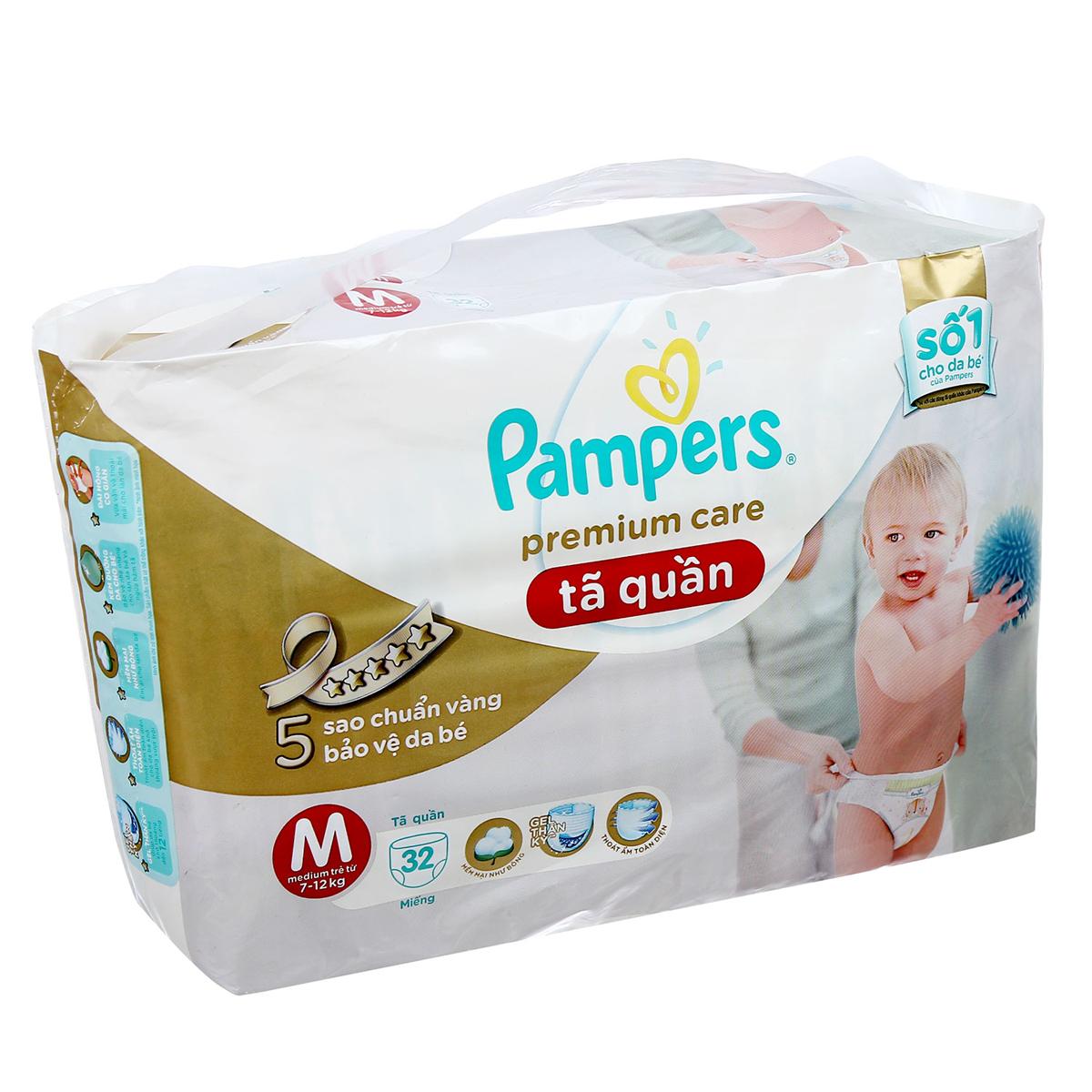 Ta - Bim quan Pampers Premium Care M32