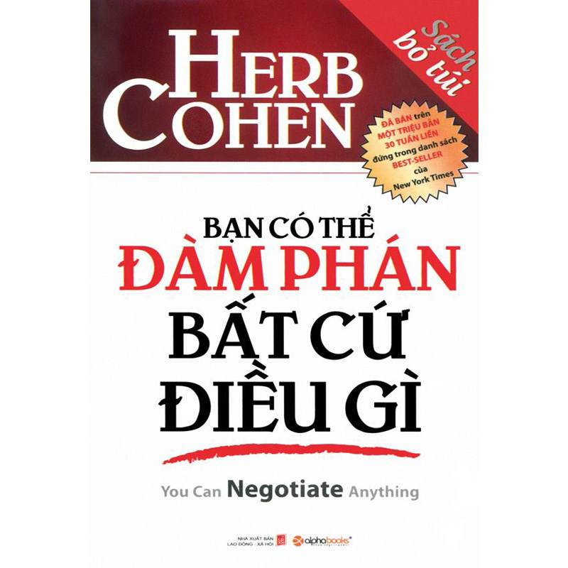 Ban co the dam phan bat cu dieu gi (Sach bo tui)