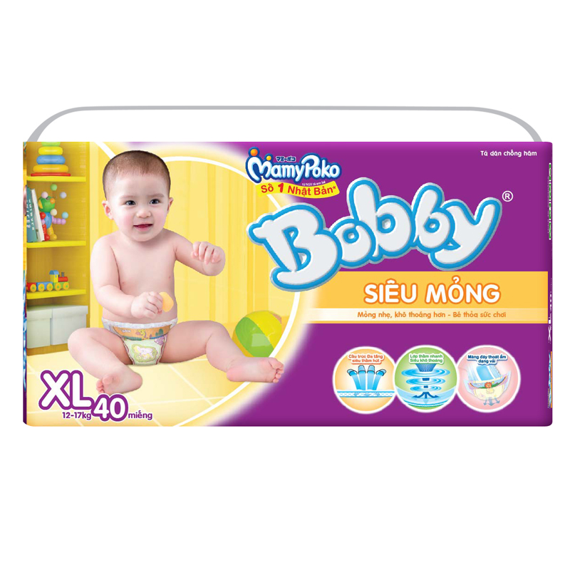 Ta - bim Bobby XL40 sieu mong