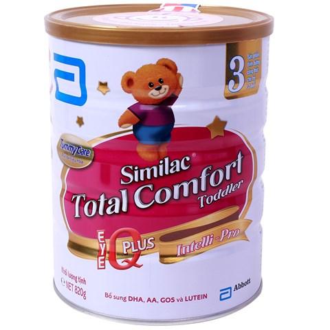 Sua Similac Gain Total Comfort so 3 - 820g
