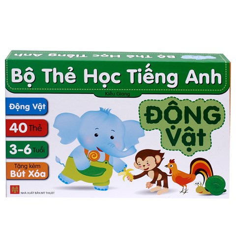 Bo the hoc Tieng Anh - Dong vat