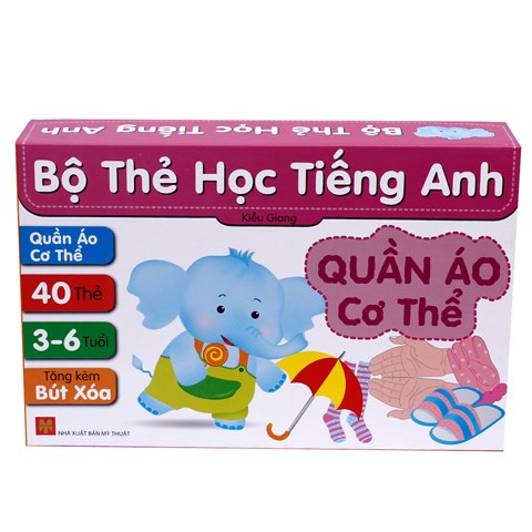 Bo the hoc Tieng Anh - Quan ao co the