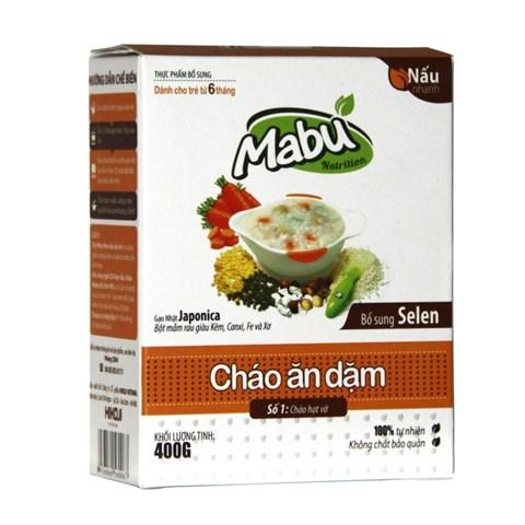 Chao an dam Mabu so 1 hat vo (400g)
