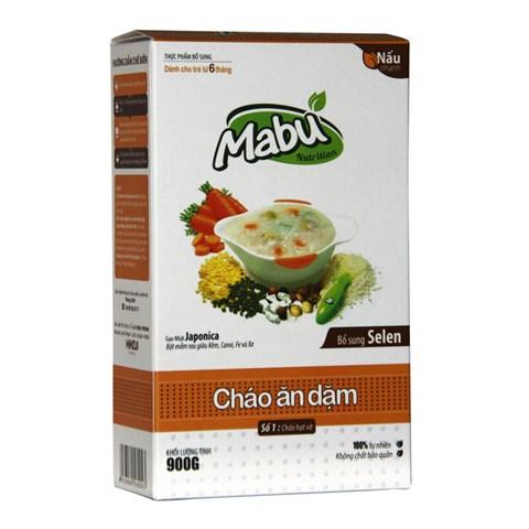 Chao an dam Mabu so 1 hat vo (900g)
