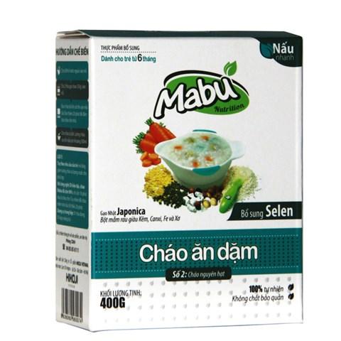 Chao an dam Mabu so 2 nguyen hat (400g)