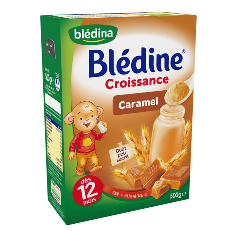 Bot pha sua Bledina vi Caramel - 500g