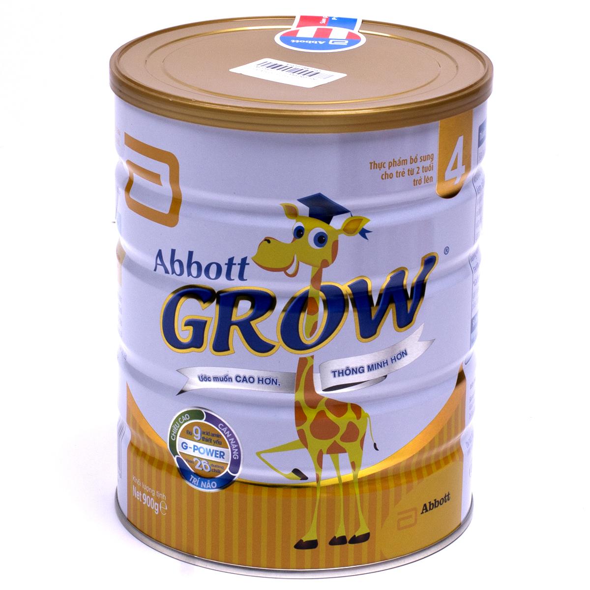 Sua Abbott Grow 4 900g