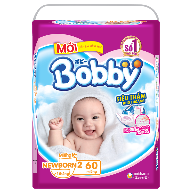 Ta giay Bobby Newborn 2 (60M)