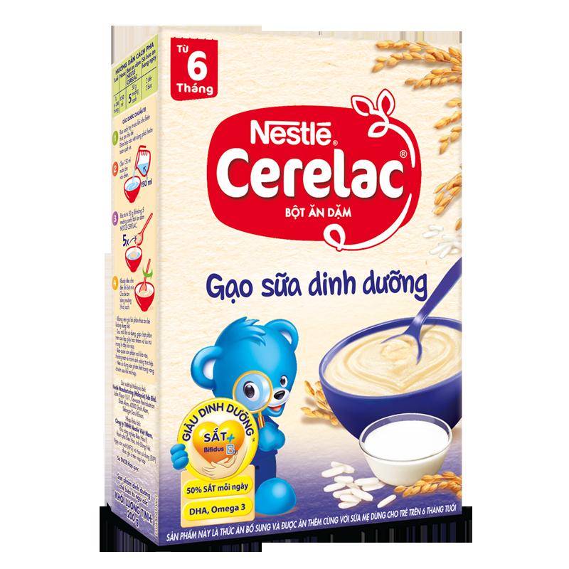 Bot dinh duong gao sua Nestle Cerelac