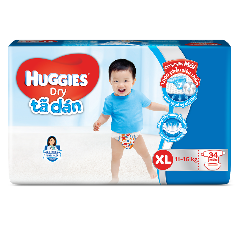Ta - bim dan Huggies XL34
