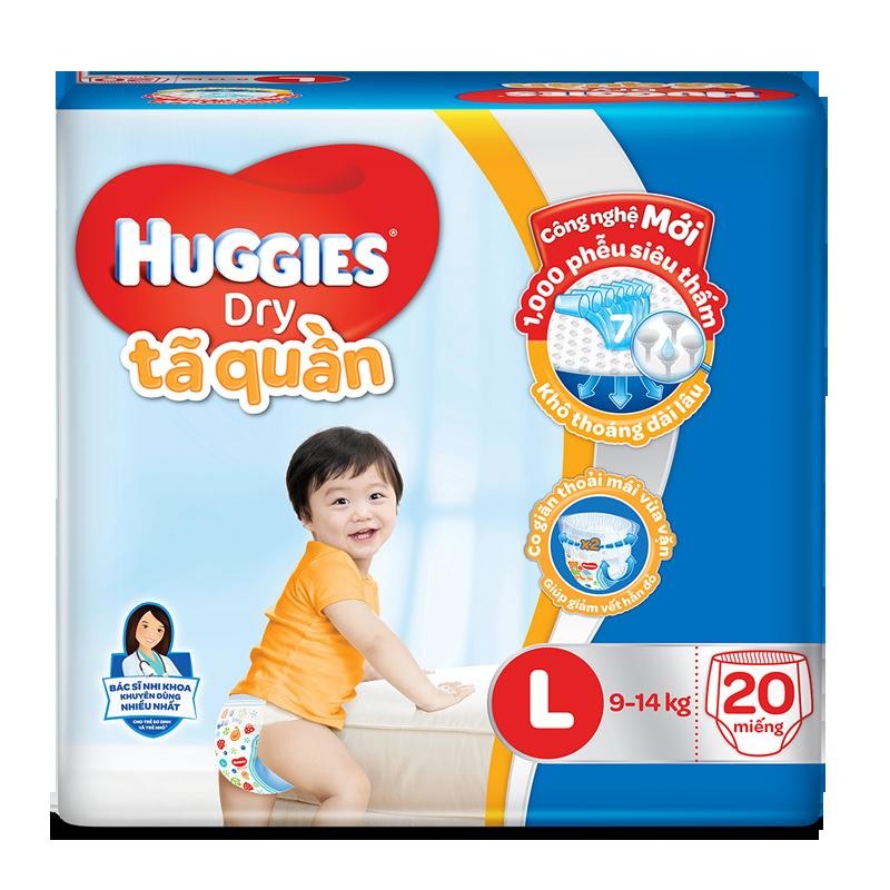 Ta - bim quan Huggies Dry Pant L20