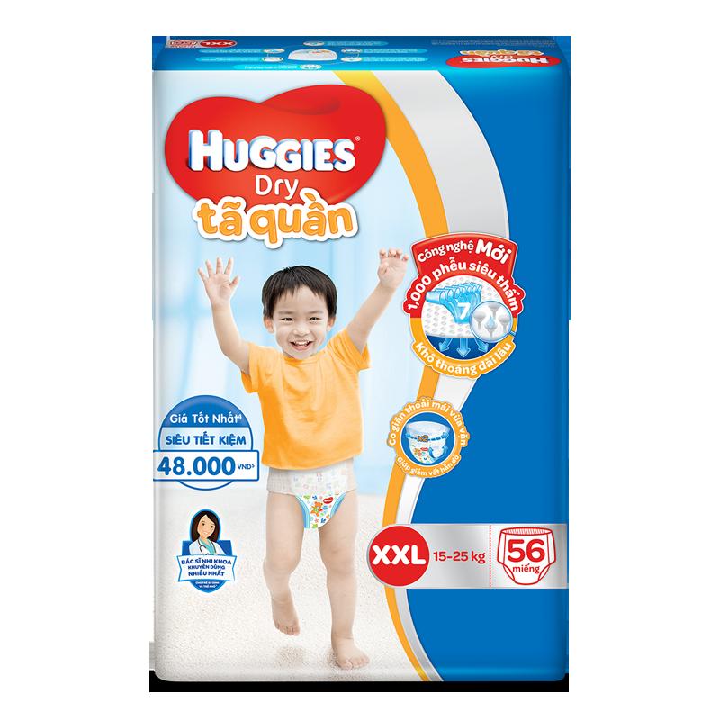 Ta – Bim quan Huggies XXL56 (15 – 25 kg)
