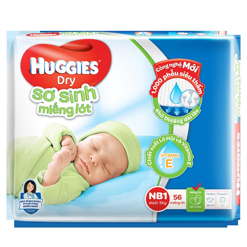 Ta giay Huggies newborn 1 (56M)