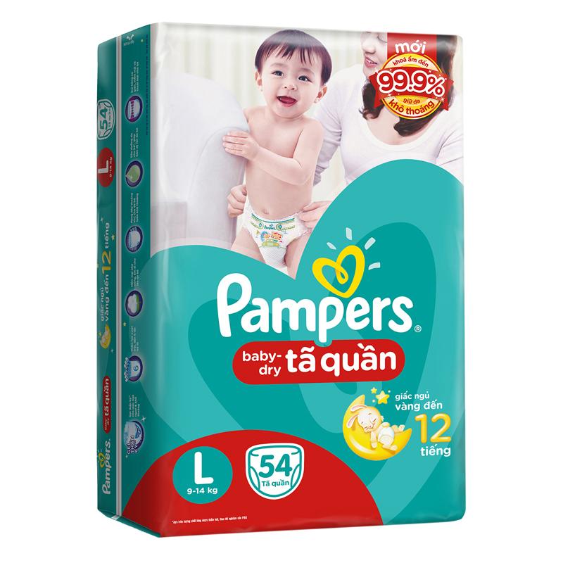 Ta - Bim quan Pampers L54 (9-14kg)