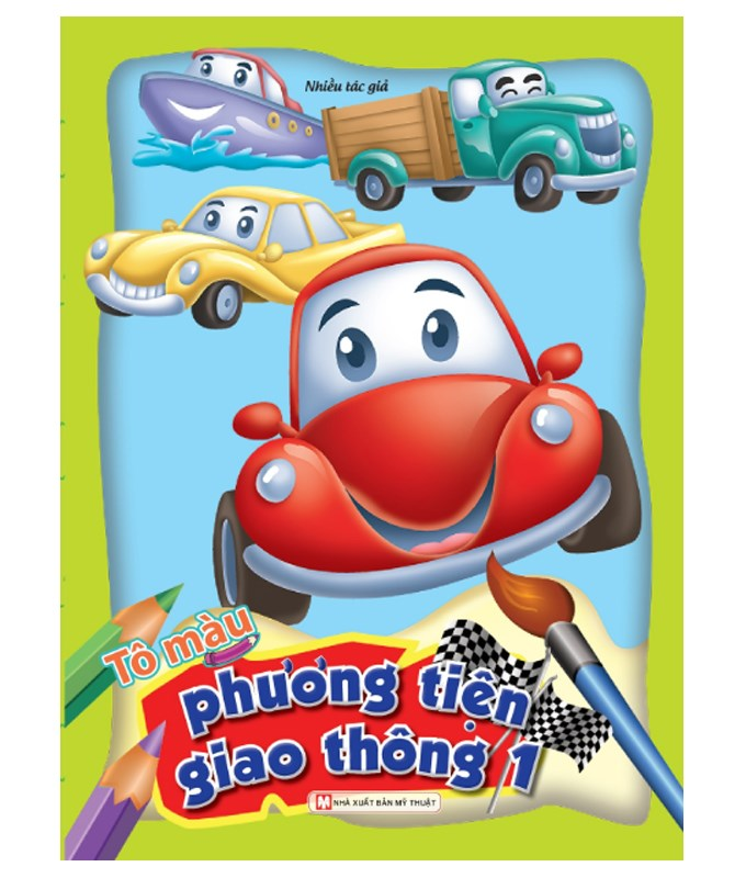 To mau phuong tien giao thong_Tap 1