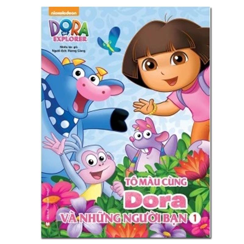 Tap to mau cung Dora va nhung nguoi ban Tap 1