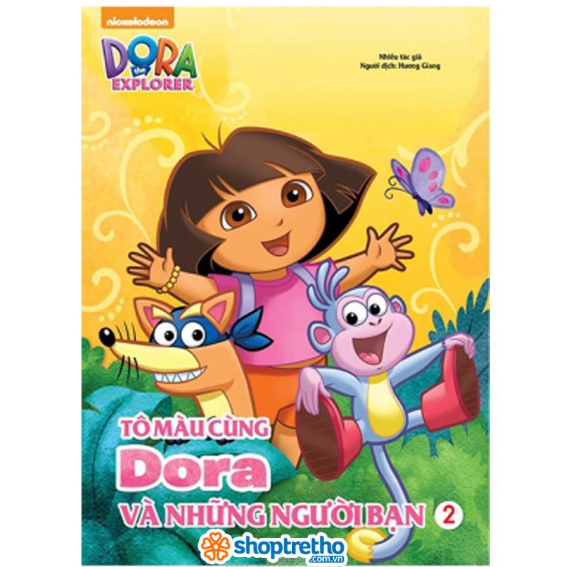 Tap to mau cung Dora va nhung nguoi ban Tap 2