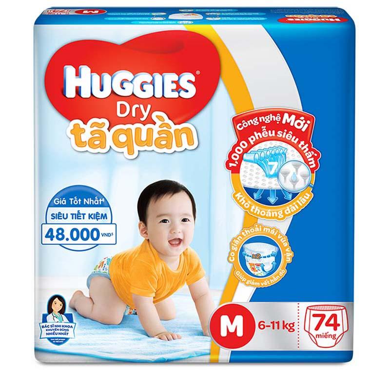Ta - Bim quan Huggies Dry M74 (6-11kg)