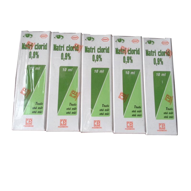 Nuoc muoi sinh ly Natri clorid 0,9% (10ml)