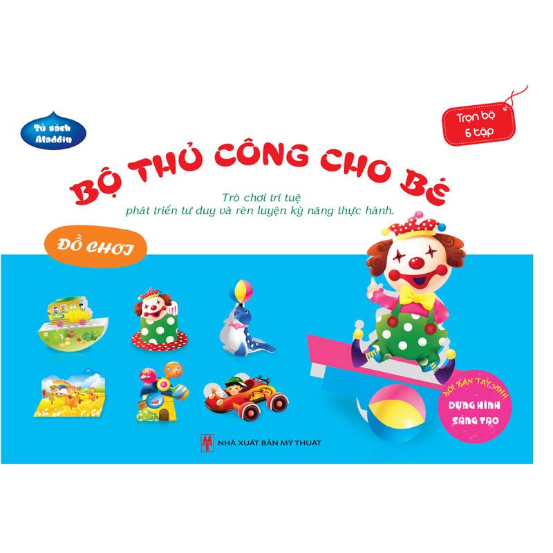 Bo thu cong cho be - Do choi