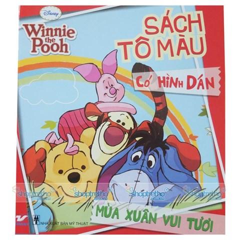 Tron bo sach to mau co hinh dan Pooh