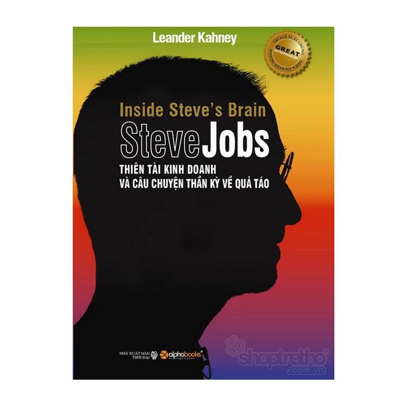Steve Jobs - Thien tai gan do va cau chuyen than ky ve qua tao (Bia cung)