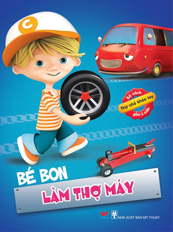 Tho nho kheo tay - Be Bon lam tho may