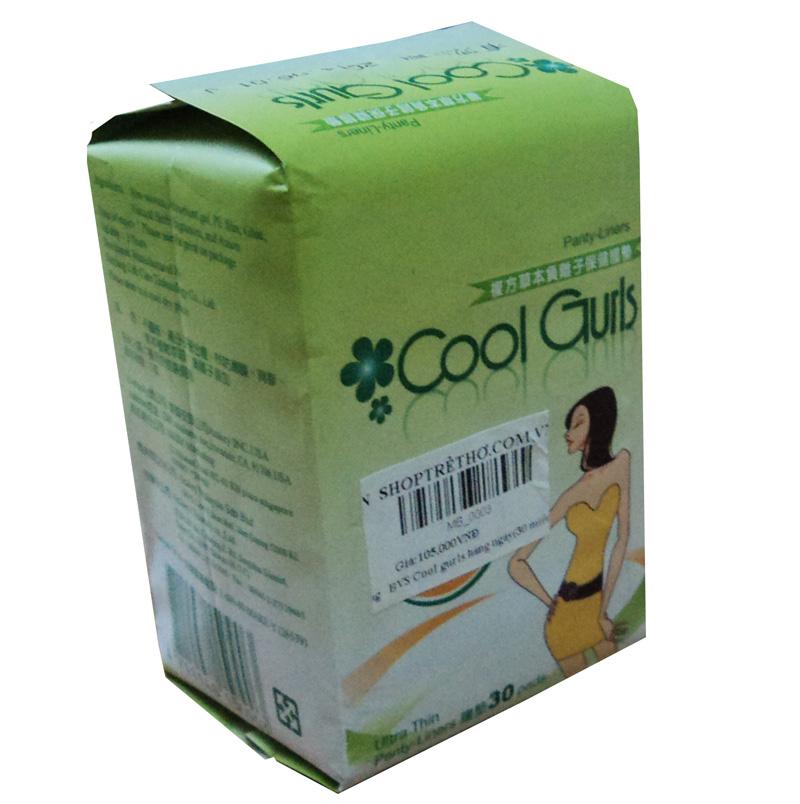 Bang ve sinh Cool Gurls hang ngay (30 mieng)