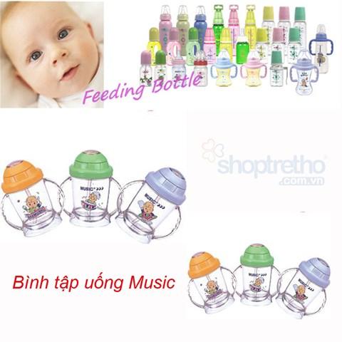 Binh tap uong nuoc Music