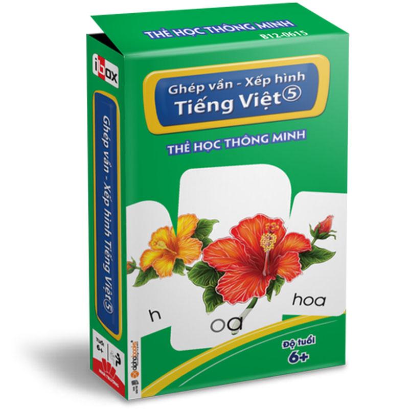 The hoc thong minh - Ghep van - Xep hinh Tieng Viet 5