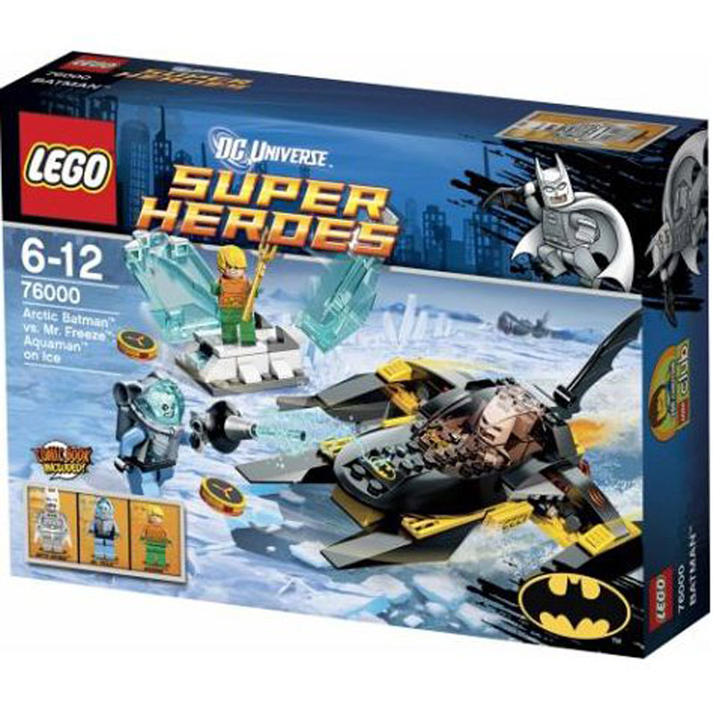 Do choi xep hinh LEGO 76000 Super Heroes Arctic Batman