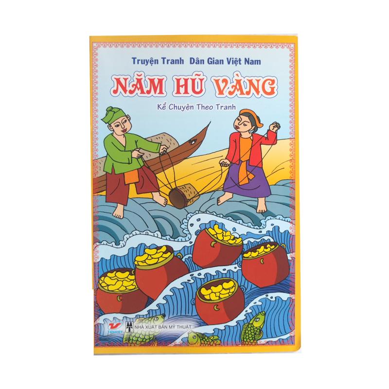 Truyen tranh dan gian Viet Nam - Nam hu vang