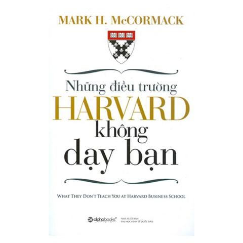 Nhung dieu truong Harvard khong day ban
