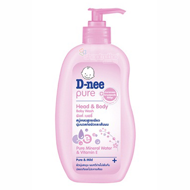 Tam goi toan than Baby Dnee (0-3t) 380ml (hong)