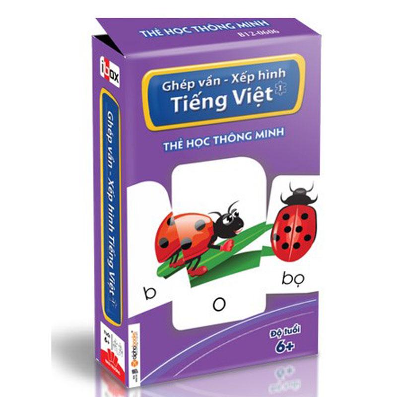 """bo the """" Ghep van – Xep hinh Tieng Viet 1"""""""